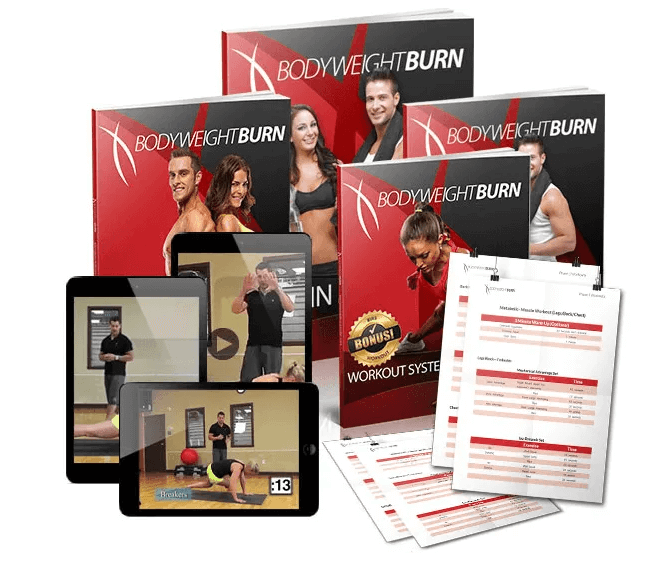 A bodyweight burn review. A home exercise program built just for you.