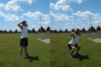 How to do a bodyweight leg workout on the go.