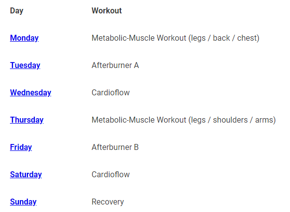 Unlike other bodyweight burn system reviews, I show you what the program actually looks like.