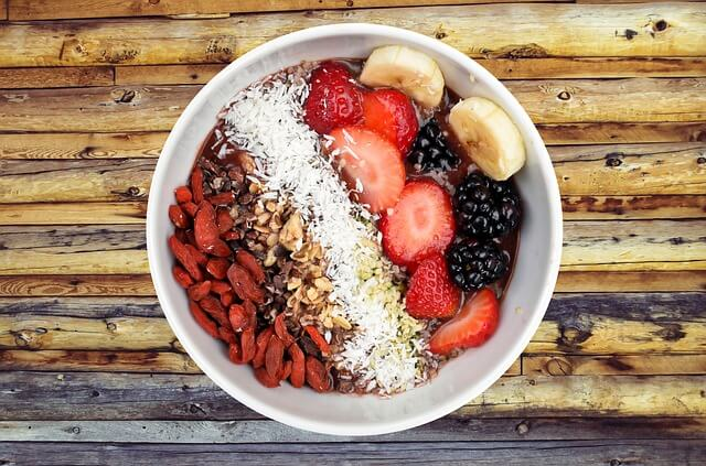 Berries and beans are great way of incorporating more fiber into your daily diet.