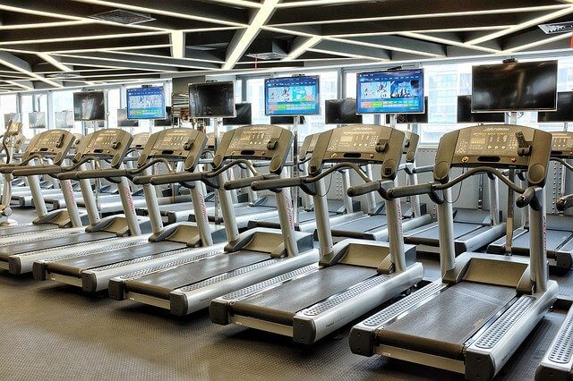 Endless line of treadmills. Doing excessive amounts of cardio may not burn fat the way you hoped it would.