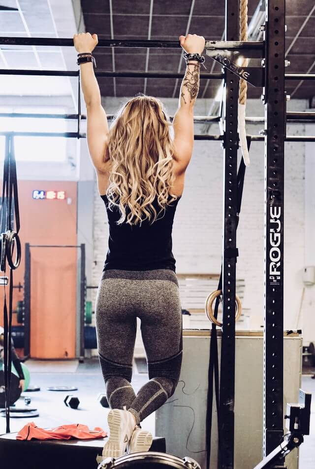 The benefits of pullups for women include toning muscles, mental strength, and muscle gains.
