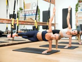 TRX suspension training is a killer core workout.