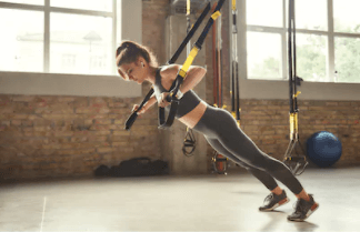 The TRX muscle building program is effective and efficient at burning calories and toning your body.