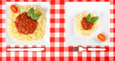 Learning how to control portion sizes in a restaurant isn't as difficult as you may think.