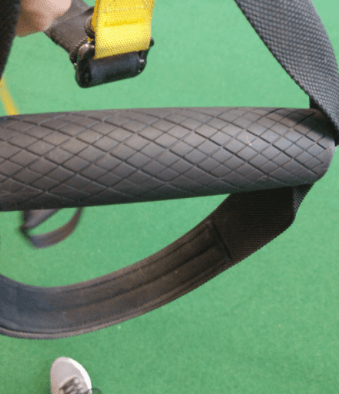 TRX trainer is great for building muscle.