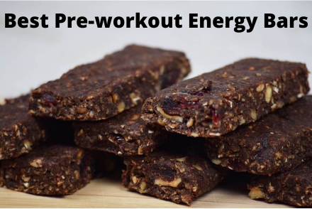Stack of energy bars